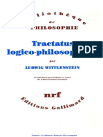 Ludwig Wittgenstein_Gilles Gaston Granger Tractatus Logico Philosophicus
