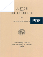 Ronald Dworkin,  Justice and the Good Life-1990