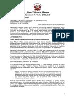 Resolución N.° 0303-2016-JNE