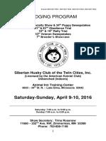 Judging Program SHCTC Specialty 2016