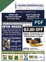 Spring '16 Customer Appreciation Sale