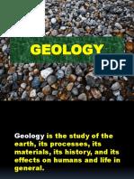 English i - Geology