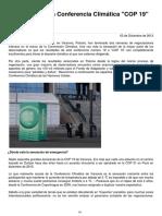 COP19 2013 Resumen