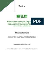Enfermedad Dian Kuang Farmacopea Tradicional China y Interacciones
