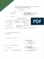 306646129 Dawson Larry Complaint and Affidavit March 31 2016
