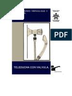 Instalaciones Hidráulicas y Sanitarias - Teleducha Con Vávula 7