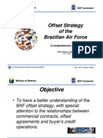 GICC Budapest 2010 - Offset Strategy of the Brazilian Air Force