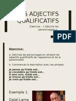 Adjectifs Exercice