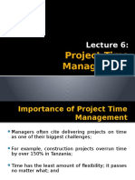 Lecture 6 - Time Management