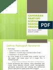 GAMBARAN ANATOMI NORMAL RADIOGRAFI PANORAMIK