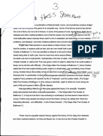 k - argument essay