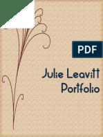 Julie Leavitt Portfolio Project
