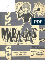 Roger Durand - Jo Maxim - Maracas - Paso Doble - Accordeon Sheet Music