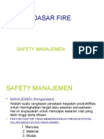Dasar-dasar Fire Safety