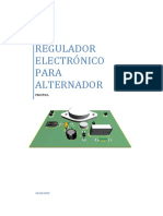 PRACTICA Regulador Electronico Alternador