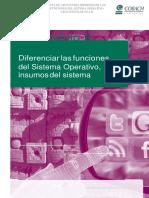 Guía Apoyo Diferenciar Funciones Del Sistema Operativo