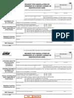 Rescind DMV Contract