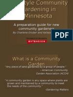 Guide for New Community Gardeners - Minnesota