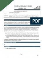 California Public Utilities Commission Letter 04-04-16