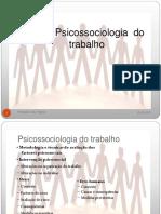 Psicossociologia