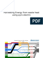 Harvesting Energy by Using Waste Heat 1