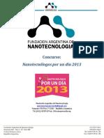 Bases y Condiciones Nanotecnólogos Por Un Día 2013
