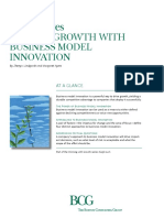 Driving Growth With Business Model Innovation -Bcg