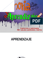 Diapositivas Memoria y Aprendizaje Psicofisio