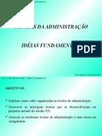 Aula -1 Teorias Da Administraçao