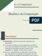 1 - Introdução ao Histórico da Computação