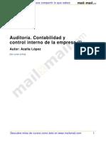 Auditoria Contabilidad Control Interno Empresa i 20560