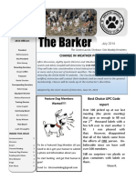 The Barker July 2014