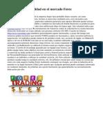 Disminuir la volatilidad en el mercado Forex