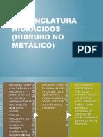 Nomenclatura de hidruro no metálico