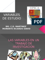Variables de Estudio Munares