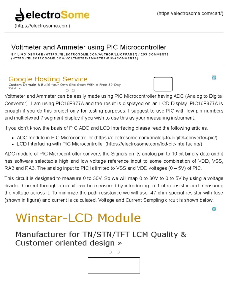 Voltmeter And Ammeter Using Pic Microcontrollerpdf 555 Timer Bistable Multivibrator Circuit Technology Hacking