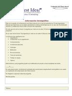 Evaluación Del Clima Laboral