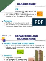 Physics-Capacitance