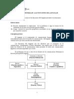 Guía Funciones Del Lenguaje 2013