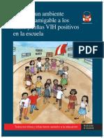 Guia Creando Un Ambiente Seguro y Amigable a Los Ninos y Ninas Vih Positivos en La Escuela