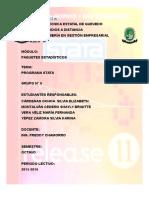 Manual de Stata 11 Grupo 8