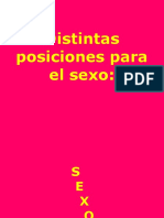 Posiciones de Sexo