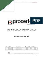 Horn Data Sheet