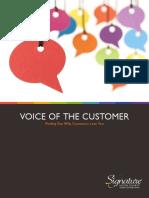 Voice of the Customer eBook