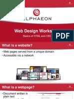 alphaeon web design workshop