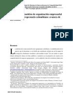 Articulo de Ponencia Innovacion y Modelos de Organizacion Empresarial en El Sector Agropecuario Colombiano APOYO