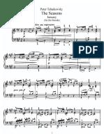 Tchaikovsky the Seasons Op37b