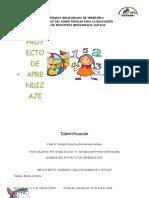 Proyecto Aprendizaje Jairo Diaz 4 grado