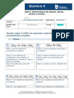 MIV-U7-Actividad 4. Nomenclatura de Esteres, Éteres, Aminas y Amidas