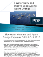 OSACVSC Blue Water Navy Training